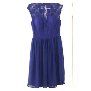 Mystic Blue Party Dress